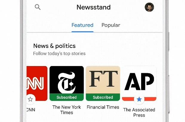 Google News: l'abbonamento alle testate