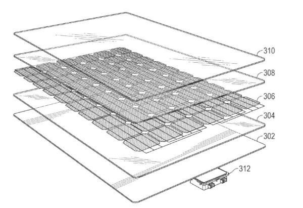 Tesla, un brevetto rivela i segreti del Solar Roof