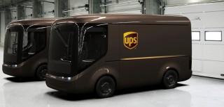 UPS, furgoni elettrici a Londra e Parigi