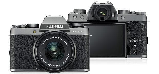 La mirrorless Fujifilm X-T100
