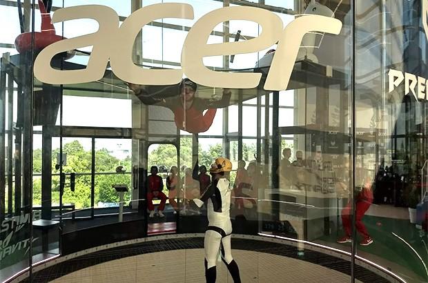 L'evento Acer dedicato alla gamma Predator per il gaming, organizzato presso lo spazio Aero Gravity di Pero