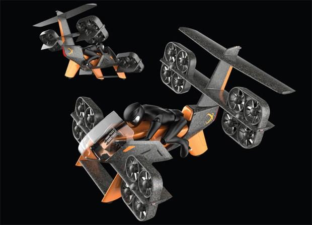 Il concept ERA Aviabike del team Aeroxo LV premiato da Boeing al GoFly Prize