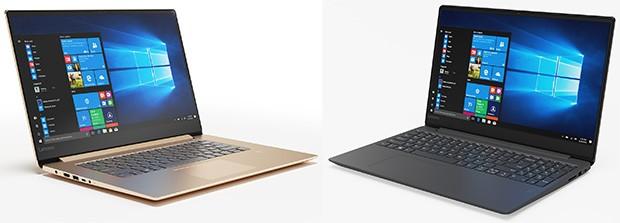 Lenovo IdeaPad 530S (a sinistra) e IdeaPad 330S (a destra)