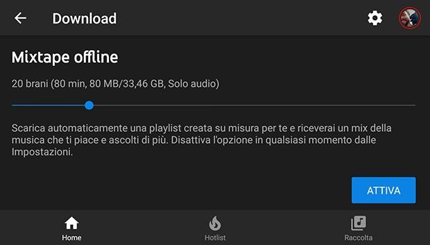 YouTube Music: la playlist Mixtape offline per l'ascolto in assenza di connessione Internet