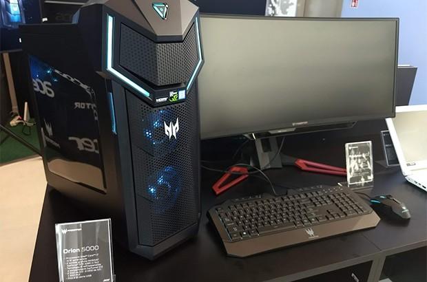 Il computer desktop Acer Predator Orion 5000 per il gaming