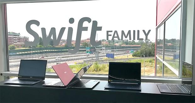 La famiglia Swift di Acer
