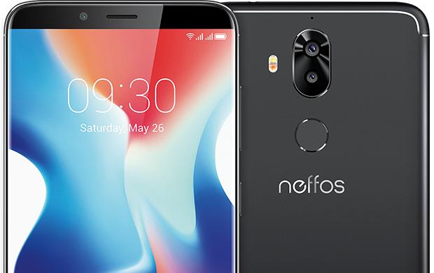 Il design di Neffos X9