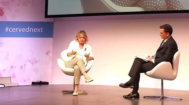 Augusta Iannini, Vice Presidente dell'Autorità Garante Privacy, sul palco di Cerved Next