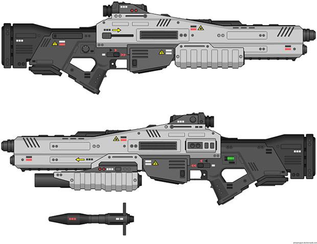Il fucile laser d'assalto progettato dall'azienda cinese