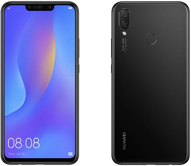 Lo smartphone Huawei P Smart+ nella colorazione Black