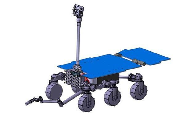 Un concept per il rover che si occuperà di riportare sulla Terra campioni del suolo di Marte