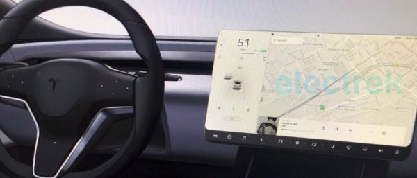 Bozzetto nuovi interni Model S e Model X