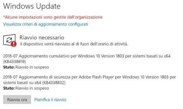 Windows 10, nuovi update per il Patch Tuesday