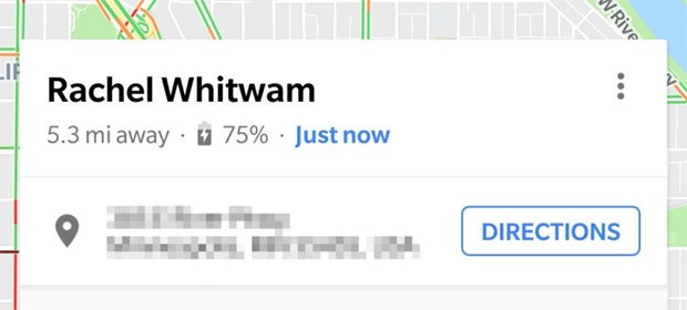 La Condivisione della Posizione di Google Maps segnala ora anche l'autonomia residua