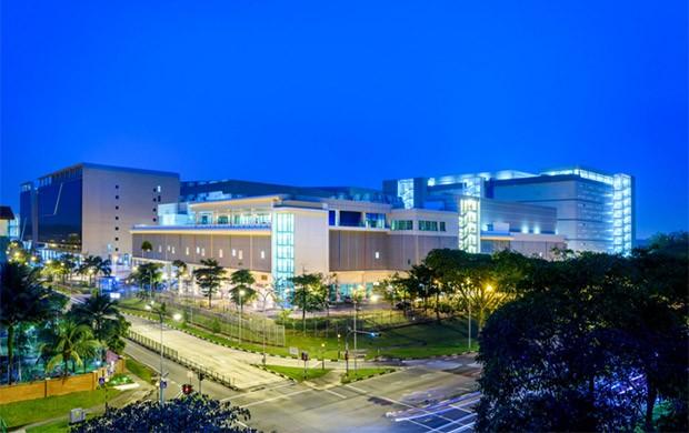 Il primo data center realizzato da Google a Singapore, nel 2015