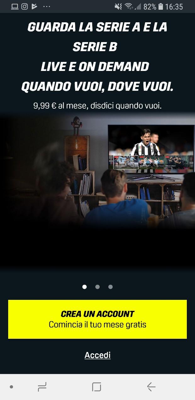 SCARICARE APPLICAZIONE DAZN SU SMART TV SONY