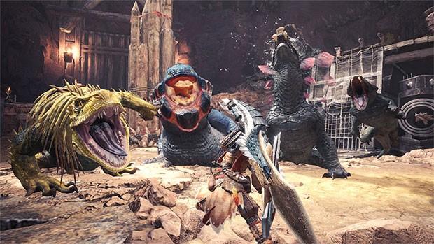 Uno screenshot per il gameplay del titolo Monster Hunter: World, ritirato dalla Cina dopo soli due giorni dal lancio