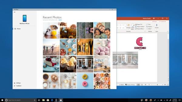 Windows 10 Redstone 5 build 17728: Your Phone
