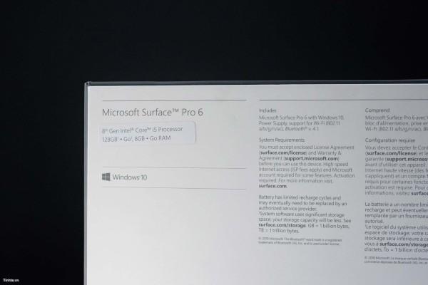 Surface Pro 6, spunta un Hands On