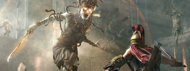 Assassins-Creed-Odyssey-Medusa-battle