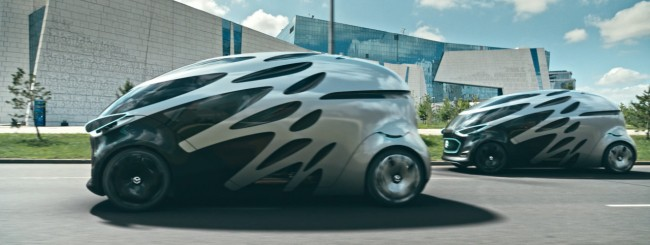 Vision URBANETIC, la mobilità urbana per Mercedes