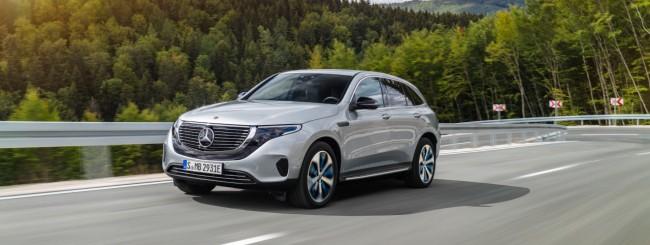 EQC, il SUV elettrico di Mercedes