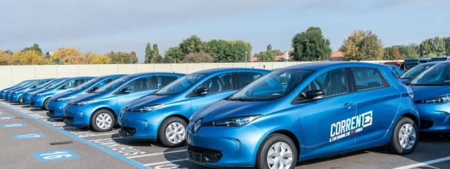 Corrente, il car sharing elettrico di Bologna