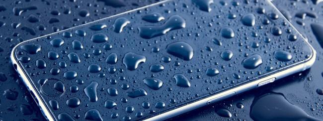 iPhone, pioggia