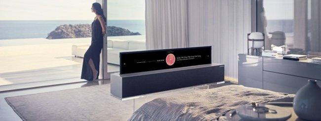 CES 2019, l'OLED arrotolabile di LG è realtà