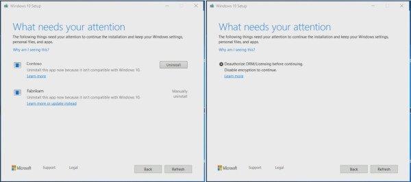 Windows 10, messaggi di errore più chiari
