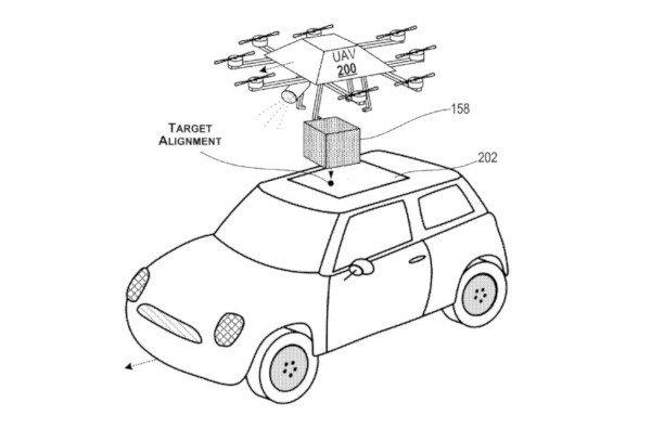 Microsoft, consegne dinamiche con i droni