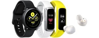 Galaxy Watch Active, Buds e Galaxy Fit ufficiali