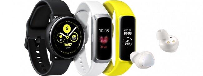 Galaxy Watch Active, Buds e Galaxy Fit ufficiali