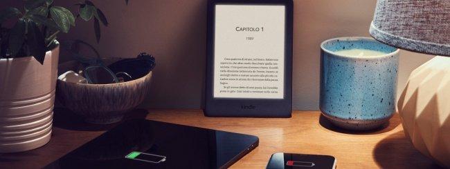 Amazon, nuovo Kindle con luce regolabile