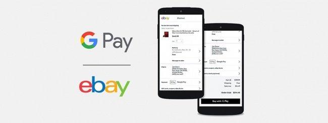 Ebay abbraccia Google Pay