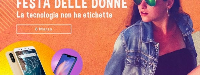 Festa della Donna, da Xiaomi smartphone in sconto