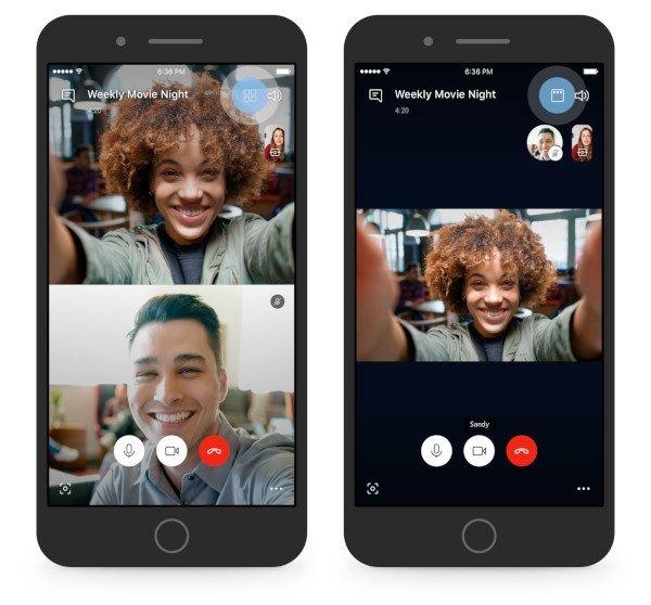 Skype, nuova funzione per le chiamate di gruppo