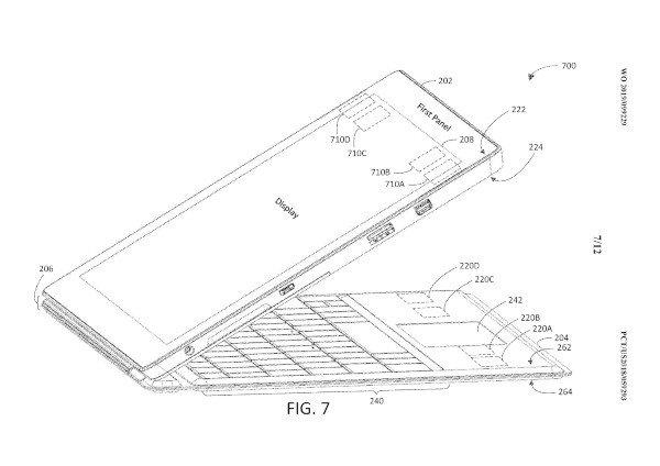 Microsoft, brevetto per la Type Cover dei Surface