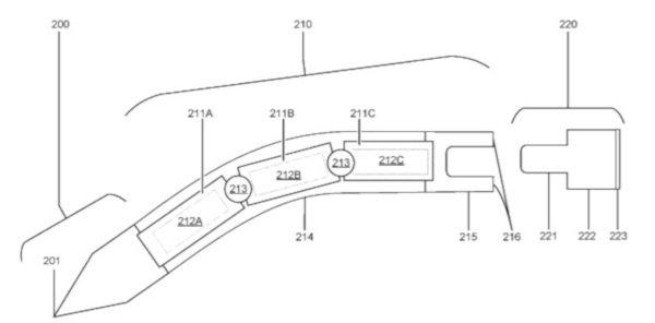 Microsoft pensa ad un pennino flessibile