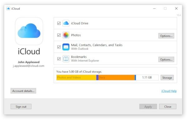 Windows 10, nel Microsoft Store sbarca iCloud