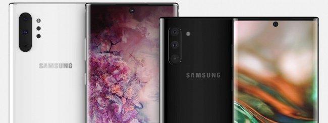 Samsung-Galaxy Note 10 e Note 10 Pro render