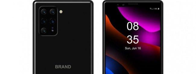 Smartphone Sony concept