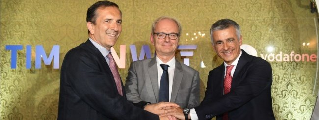 TIM e Vodafone insieme per il 5G in Italia