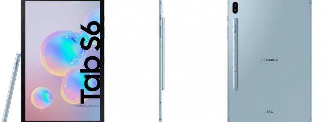 Samsung Galaxy Tab S6 leak