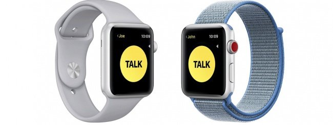 Walkie Talkie, Apple Watch