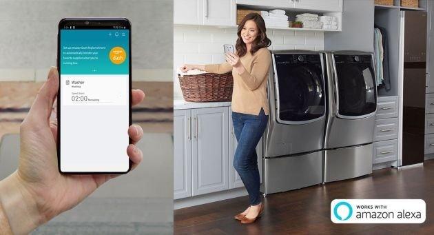LG ThinQ App - Amazon Dash Replenishment