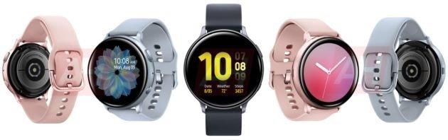 Samsung Galaxy Watch Active 2 render