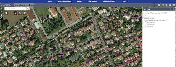 mappa banda larga agcom