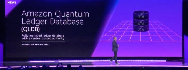 Amazon Quantum Ledger Database