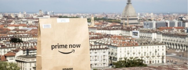 Amazon Prime Now sbarca a Torino